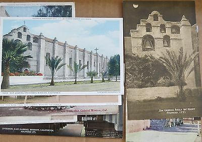 Vintage Postcards & Souvenir Folder from the State of California