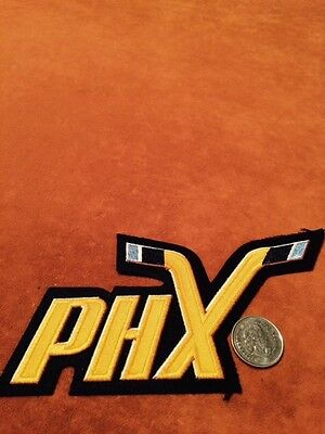 Phoenix Roadrunners Small PHX Hockey Shoulder Crest Patch 3 by 6 inches