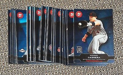 2011 Topps Series One TOPPS TOWN Set Complete 1-50