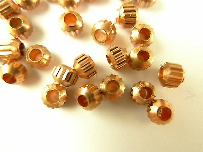 30 pcs unique heavy copper metal spacer component trade beads tribal Africa