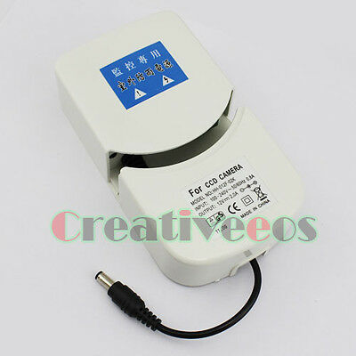 100-240V AC/DC 12V 2A Outdoor Waterproof Switching Adapter Power for CCD Camera