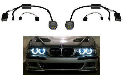 BMW X3 E83 20 Watt LED Angel Eyes Cree Chip Marker Corona Ringe a2