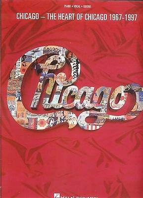 CHICAGO ~ THE HEART OF CHICAGO 1967-1997 Songbook NEW! Piano Vocal Guitar