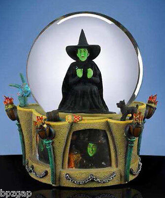 WIZARD OF OZ WICKED WITCH I'M MELTING GLOBE