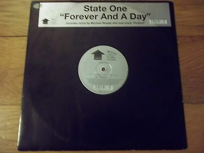 """STATE ONE - FOREVER AND A DAY 12"""" RECORD / VINYL - INCENTIVE - CENT54T"""