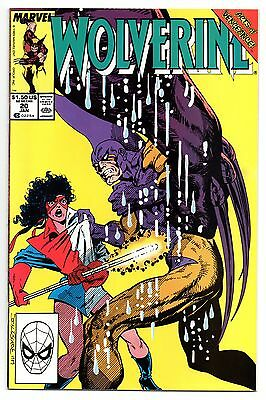 Wolverine Vol 2 No 20 Jan 1990 (VFN) Marvel Comics, Modern Age (1980 - Now)