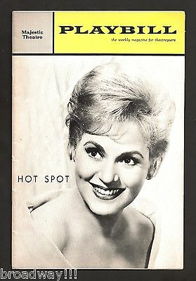 "Judy Holliday ""HOT SPOT"" Mary Rodgers / Martin Charnin 1963 FLOP Playbill"