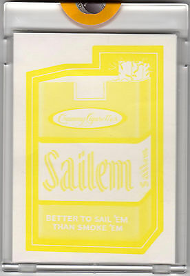 1973 WACKY PACKAGES Series 2 SAILEM Proof Topps Vault Rare Gum Sticker