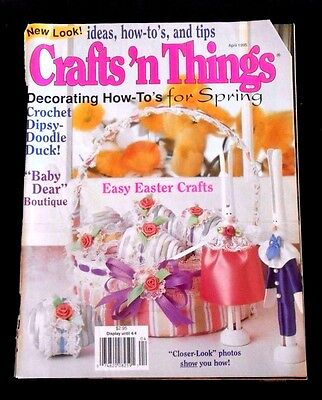 Crafts 'n Things MDecorating How-To's for Spring;  Easy Easter Crafts