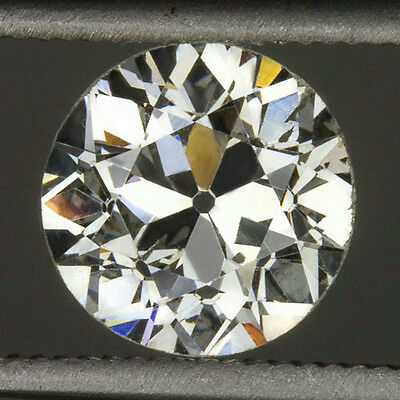 1.21ct VINTAGE I SI2 EGL-USA CERT OLD EUROPEAN CUT LOOSE ROUND DIAMOND ANTIQUE