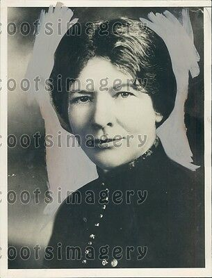 1930 Kansas Congresswoman Ida M Walker of Norton Press Photo