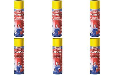 Lot De 6 Transyl Degrippant Lubrifiant Protege Spray 400 Ml