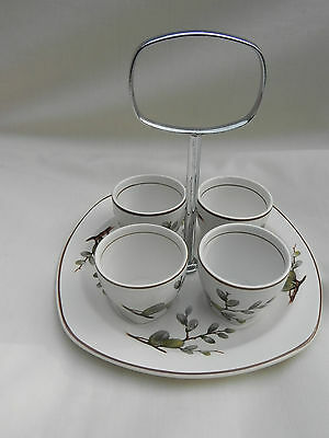 Midwinter Stylecraft SPRING WILLOW  EGG CUPS on Tray.