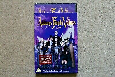 The Addams Family  Family Values       Brand New Sealed Genuine Uk Dvd