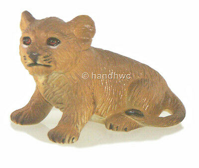 AAA 96765SIT Lion Cub Sitting Model Animal Toy Figurine Replica - NIP