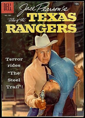 Jace Pearson's Tales of the Texas Rangers #18 1958 Dell Photo Cover 8.0 VF