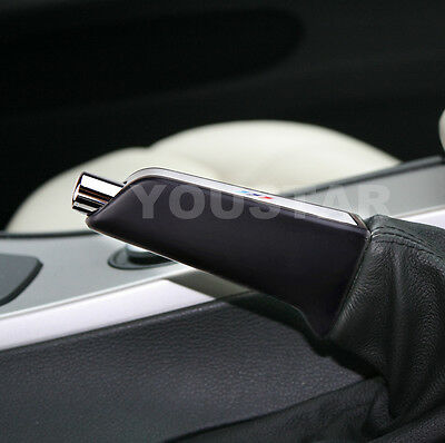 Aluminum Weighted Sports Handbrake Handle sleeve for BMW 1 3 5 6 X5 E53 Z Series