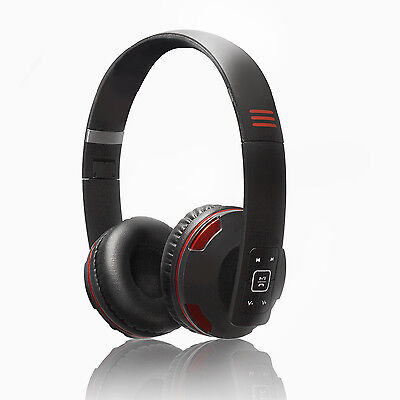 PSYC Wave X1 Bluetooth Wireless Headphones Headset With Built-in Mic Foldable