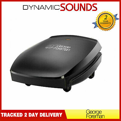 George Foreman RUSSELL HOBBS 18471 Grill 4 Four Portion Family Large Grill BlacK