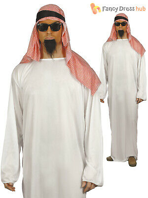 Adult Funny Arabian Sultan Arab Sheik Mens Fancy Dress Costume Party Outfit
