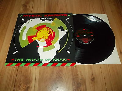 "Mystic knights-The wrath of khan-1990 12"" single"