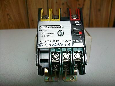 CUTLER-HAMMER TYPE R REED RELAY D40RR32A  120 V Ac. COIL