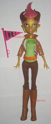 Monster High Student Disembody Council Gilda Goldstag Loose Doll & Clothes NEW