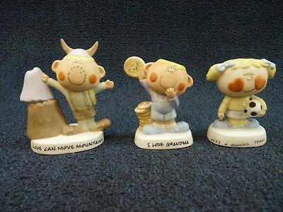 Willitts Freckles Figurines Lot Of 3 (pt959)