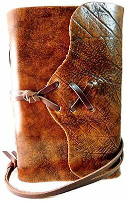 """""""The Nomad"""" Distressed Leather Journal (Leather Bound)"""