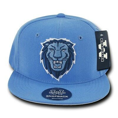 Sky Blue Columbia University Lions NCAA Flat Bill Snapback Baseball Ball Hat  Cap 88956c8a97b5