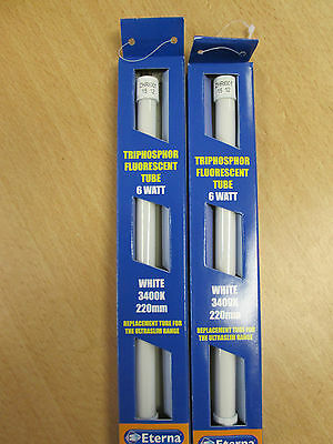 Eterna 10 Watt Fluorescent Tube 341Mm Or 352Mm With Pins Triphospur T4