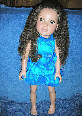 """Toys R Us 18"""" Dressed  Journey Girl Alana Doll - companion for American Girl"""