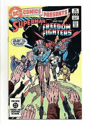 DC Comics Presents No 62 Oct 1983 (VFN+) Superman & Freedom Fighters, Modern Age