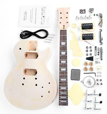 Rocktile Single Cut E-Gitarre Bausatz Selber Bauen Do it Yourself Kit DIY Set