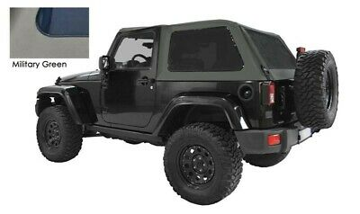 Copertura Soft Top Jeep Wrangler JK 2 porte military green