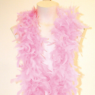 1.8M Pink Feather Boa Fancy Dress Party