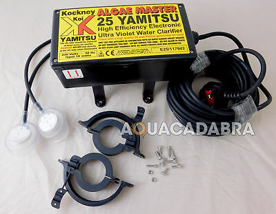 Yamitsu Algae Master Electrics Leads Spare Kockney Koi Fish Pond Uv Sterilser