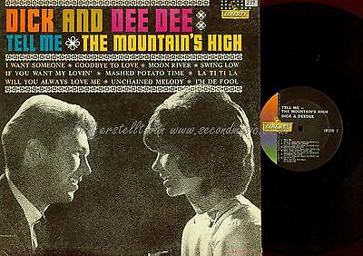 Lp--Dick And Deedee--Tell Me Themountains  High