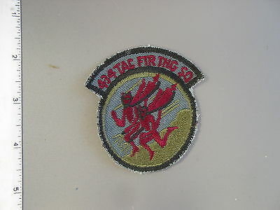 RARE USAF 434th Tactical Fighter Training Sq. subdued, by Vanguard, brand new