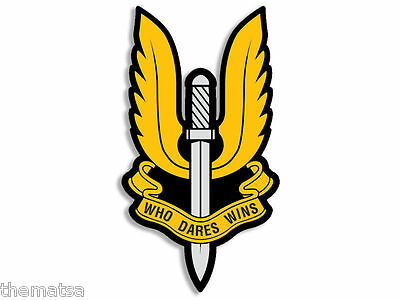 """British Army Special Forces Sas Who Dares Wins  5"""" Usa Made Sticker Decal"""