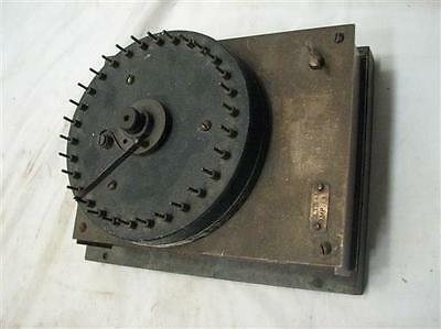 Antique Automatic Time Switch Co Boston Electrical Timer Steam Punk Clock