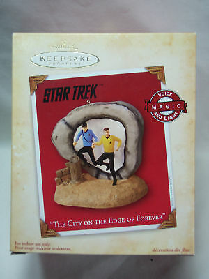 2004 Hallmark STAR TREK The City on the Edge of Forever Sound and Light Working!