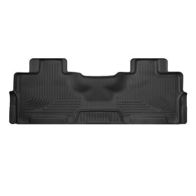 Husky Liners 14361 Black 2nd Seat WeatherBeater Floor Liner for Ford Expedition