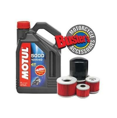 Motul 5000 OIL AND FILTER GSF 1200 BANDIT 1996 - 2006