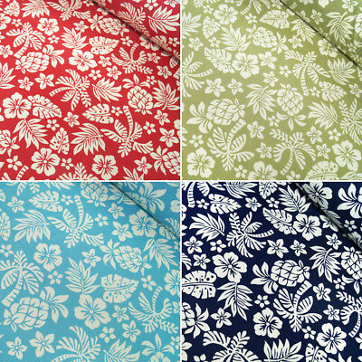 100/% Cotton Poplin Fabric by Fabric Freedom Tropical Fern Stems Stalks Leaves 2