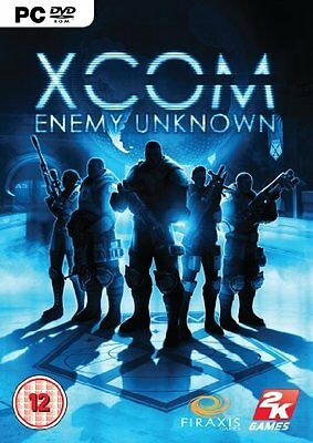** PC GAME ** XCOM ENEMY UNKNOWN ** brand new and sealed **