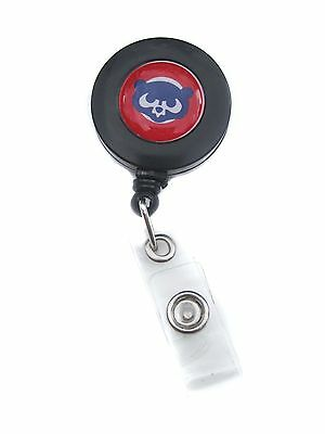 Chicago Cubs Retractable ID Badge/Key Holder