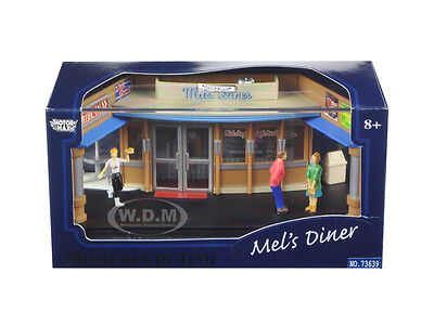 Mel's Diner Diorama Put Your Own Car Inside Moments In Time 1/64 Motormax 73639M
