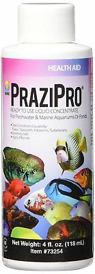 HIKARI Aquarium PraziPro 1st Ready-To-Use Concentrate Non-Toxic 4 fl. oz. 118 ml