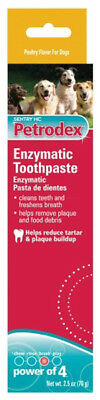 St. Jon Pet Care Petrodex Enzymatic Toothpaste For Dogs Power Of 4 -2.5 Oz./70 g
